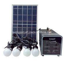 Small Mini Rechargeable LED Solar Home System Lighting