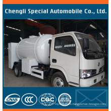5500liters LPG Citeme Tank Truck with Filling Counter Dispenser