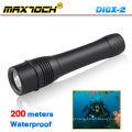 Maxtoch DI6X-2 26650 Bateria Cree Lanternas de Mergulho LED Impermeáveis