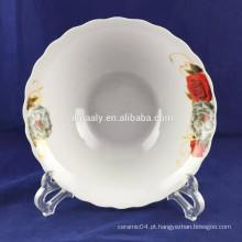 tigela de macarrão de porcelana chinesa