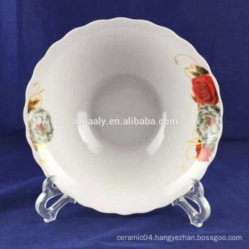 chinese porcelain noodles bowl