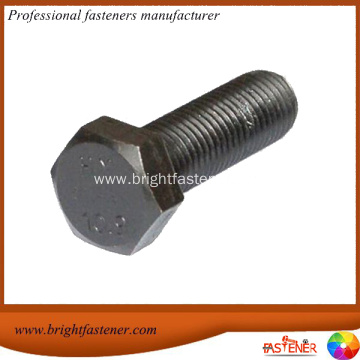 M12x70mm High Tension Steel Galvanized Hex Bolts