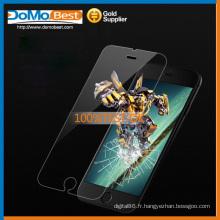 Protecteur d'écran en verre trempé haute qualité 9H 0,33 mm 2,5 D pour l'iphone 6