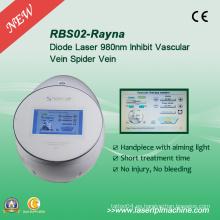 Rbs02 Vehículos de araña sin dolor Laser Removal Rbs 980nm Diode Laser