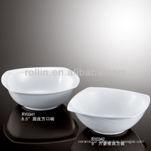 best-selling hotel&restaurant white ceramic bowl, salad bowl