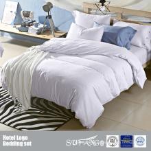 Grupo liso feito sob encomenda do fundamento da cor clara do algodão do grupo Grupo barato feito sob encomenda da cama do fundamento de cama feito na China