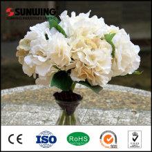 hortensias baratas al por mayor de las rosas de las flores artificiales para la decoración casera
