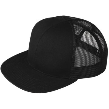 Moda malha em branco Trucker Hat Atacado