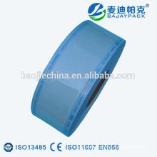 Carretes de esterilización Tyvek de sellado en caliente / rollos / tubos