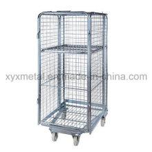Cages à rouleaux à mailles de sécurité à 4 côtés à quatre côtés