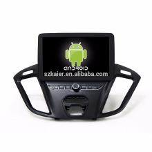 Núcleo Octa! Dvd do carro do Android 7.1 para Trasit com a tela capacitiva de 9 polegadas / GPS / relação espelho / DVR / TPMS / OBD2 / WIFI / 4G