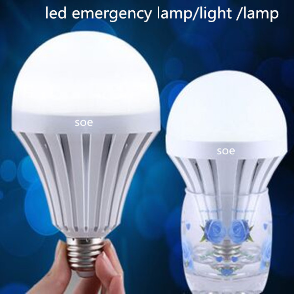 5w recargable led bombilla de emergencia