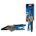"9"" chrome vanadium long nose locking plier"