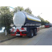 Semirremolque de combustible químico de China marca semirremolque del tanque de aceite químico de 2 ejes