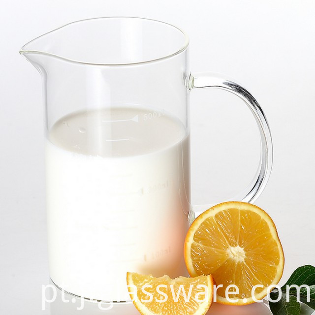 Good Quality Big Measuring Glass Cup With Holder