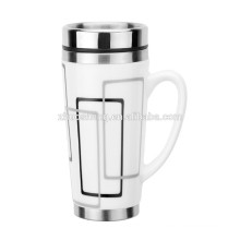 16OZ Ceramic and Stainless Steel Mug