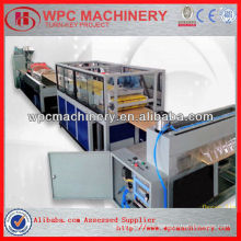 turn key project professional pvc wood plastic wpc door panel production line