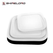 Platos cuadrados de porcelana de la placa de cerámica Y073 Platos al por mayor de la cena para las bodas Bulto