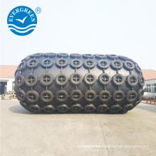 net type pneumatic submarine rubber fender for ship to ship transfer