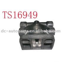 Die Casting for Auto filter chasis,Certified with TS16949