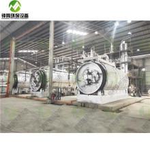 Système de traitement de filtration d'huile de moteur de déchets
