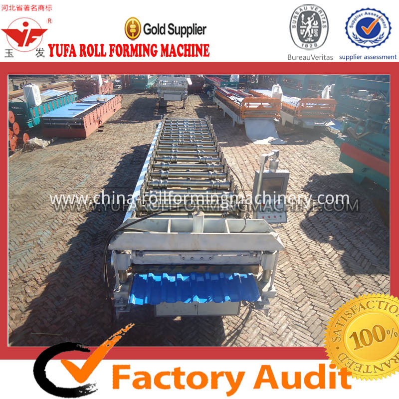 C18 roof panel roll forming machine