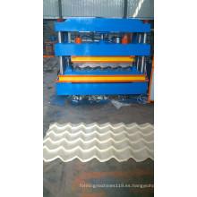Máquina de formación de tejas esmaltadas para techos Bravo