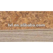 [Buena fábrica] OSB Panel (cola de melamina, 1220 * 2440 * 12 mm)