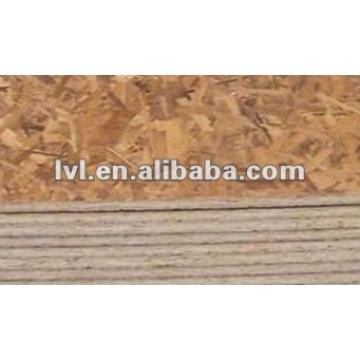 [Хорошая фабрика] Панель OSB (клей меламина, 1220 * 2440 * 12mm)