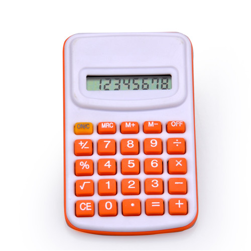 8 Digits Mini Pocket Colorful Calculator