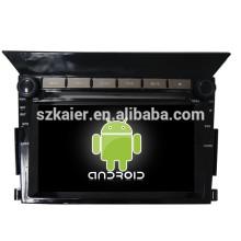 USINE! DVD de voiture avec lien miroir / DVR / TPMS / OBD2 pour 6.2inch 4.4 Android système Honda Pilot