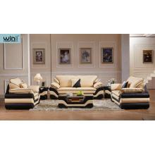 Мебель для гостиной кожаный диван комбинация