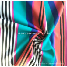 Strip White Red Black Blue Green Printing Fabric for Sportswear (HD1401115)