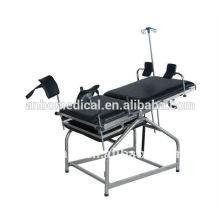 Chaise de traitement en acier inoxydable