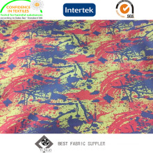 PU Coated 100% Polyester Oxford 400d Jacquard Fabric with Printed