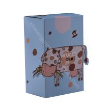 Бесплатный образец!Оптовые дешевые изготовленный на заказ полный цвет рециркулированная бумажная коробка подарка