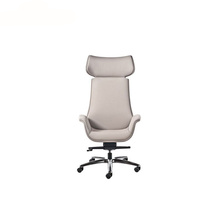 Contemporary Visitor Swivel Fabric Commercial Armchair
