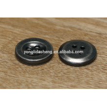 plain fashion button jacket metal buttons with 4 holes