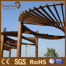 Guangdong Customized Design WPC Composite Pergola