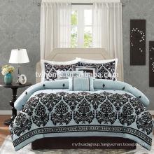 Madison Park Melina Duvet Bed Cover Set Flocking