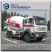 12 Cubic Beiben 6X4 Camião betoneira