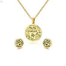 Peso ligero 2 gramos indio 22 K chapado en oro diseños Kundan collar pendiente