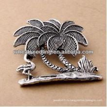 2013 Новый стиль антикварная серебряная ювелирная фея с птичьим броском BH34