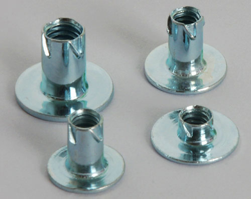 Round base jagged nuts