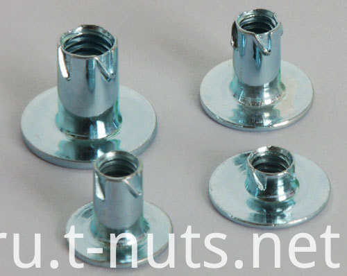 Round Base Low Carbon Steel Zinc Plated Propell Nuts
