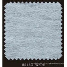 Interlineado fusible doble no tejido del color blanco del DOT con el polvo del PA (8518D blanco)