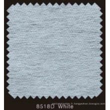 Doublure fusible non tissée double DOT de couleur blanche avec poudre de PA (blanc 8518D)