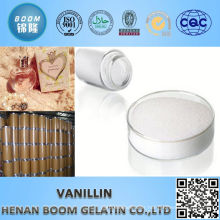 Best price recommendable food additive vanillin with halal