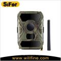 Appareil-photo de sécurité de 3g 12MP avec l'option de panneau solaire sans fil actionnée par batterie de détection de mouvement