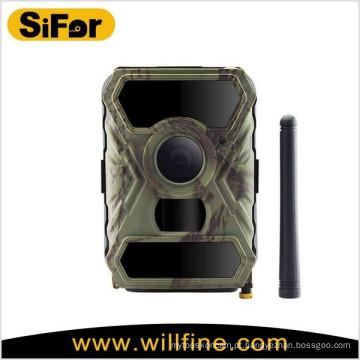Câmera de segurança 3g 12MP com opção de painel solar sem fio alimentado por bateria de detecção de movimento